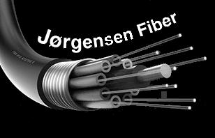 Logo til firmaet Jørgensen Fiber